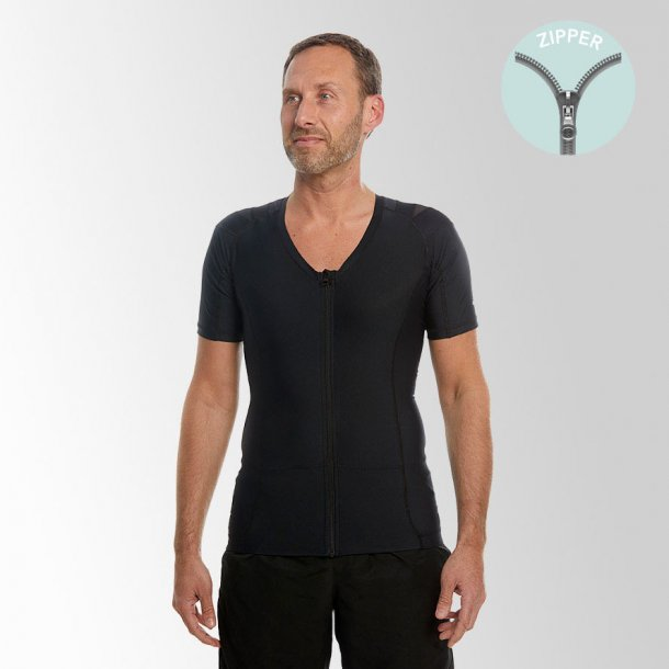 DEMO - Men's Posture Shirt 2.0 Zipper (sort)